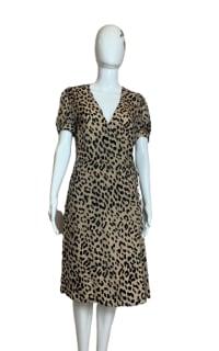 Alice + Olivia Rosette leopard-print dress 2 Preview Images