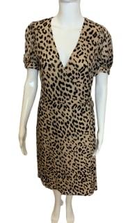 Alice + Olivia Rosette leopard-print dress 3 Preview Images