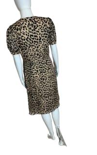 Alice + Olivia Rosette leopard-print dress 4 Preview Images