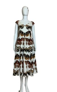 Dolce & Gabbana Butterfly-Print Dress 3 Preview Images