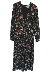 RIXO London Phoebe Under The Sea Midi Dress 4 Preview Images