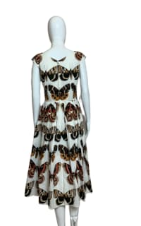 Dolce & Gabbana Butterfly-Print Dress 2 Preview Images