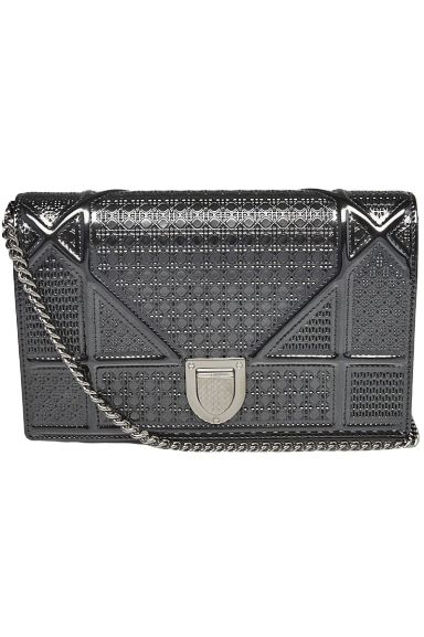 Christian Dior Diorama wallet on chain Preview Images