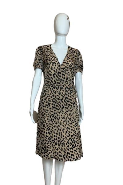 Alice + Olivia Rosette leopard-print dress 2
