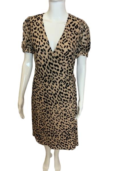 Alice + Olivia Rosette leopard-print dress 3