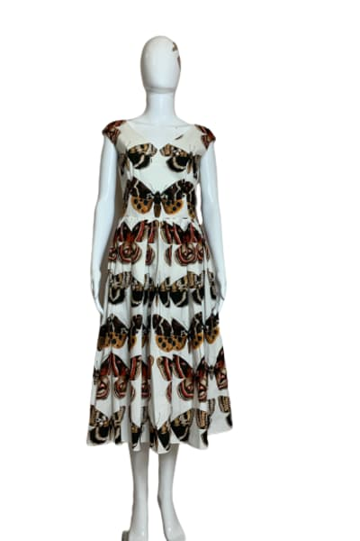 Dolce & Gabbana Butterfly-Print Dress 3