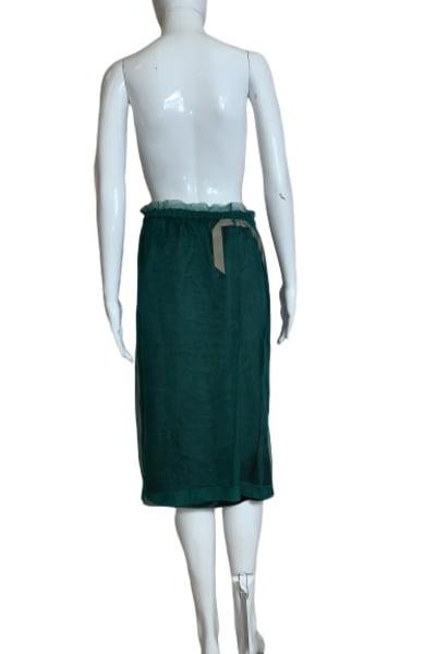No 21 Pencil net skirt 2