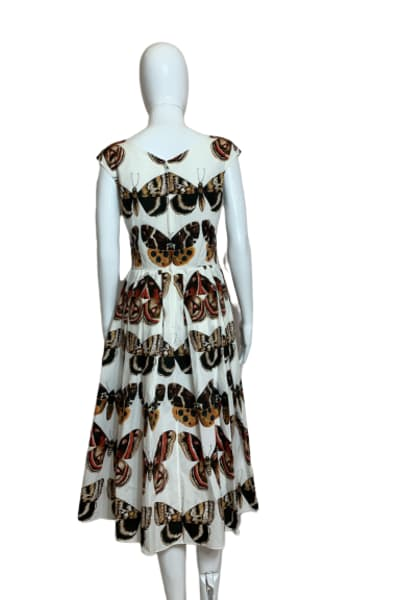 Dolce & Gabbana Butterfly-Print Dress 2