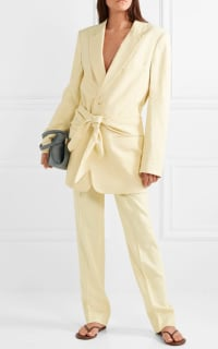 Tibi Yellow Suit 5 Preview Images