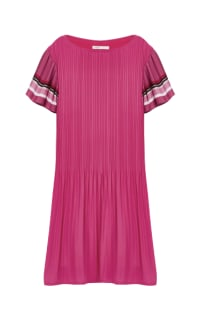Maje Pink Pleats Preview Images