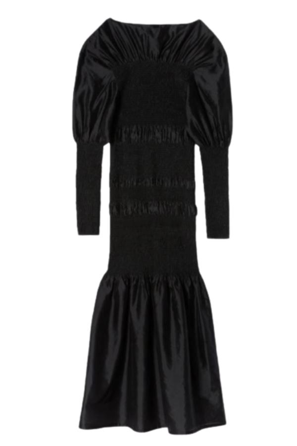 Toteme Black Coripe Dress
