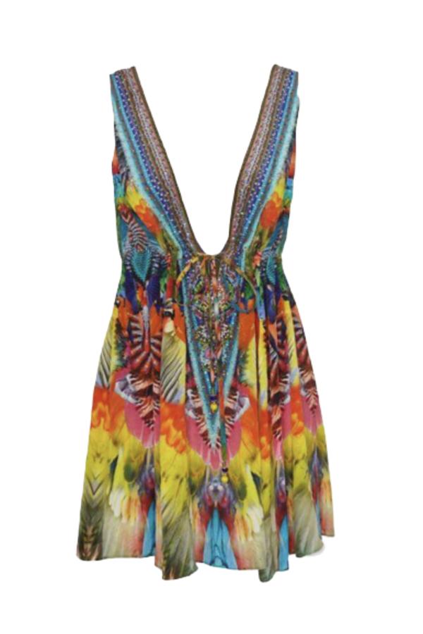 Camilla Beaded mini dress 2