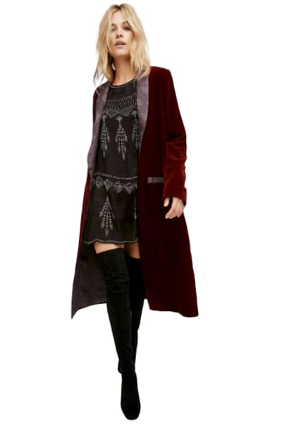 Free People Velvet Dreams Jacket