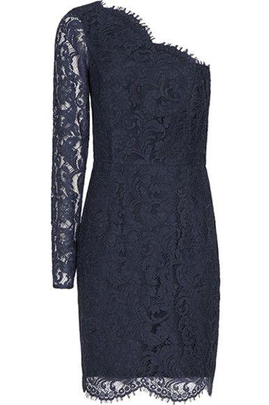 Reiss Leticia Asymmetric Lace Dress 4 Preview Images
