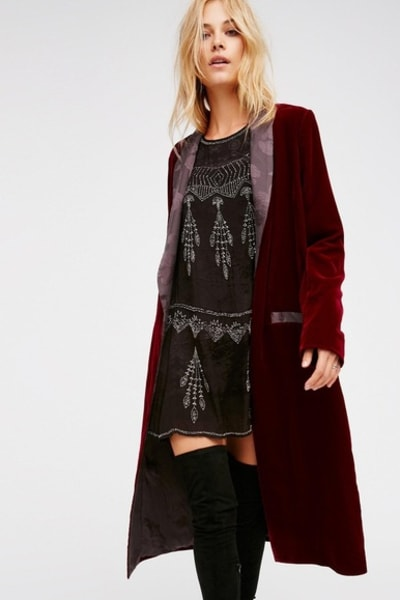 Free People Velvet Dreams Jacket 3
