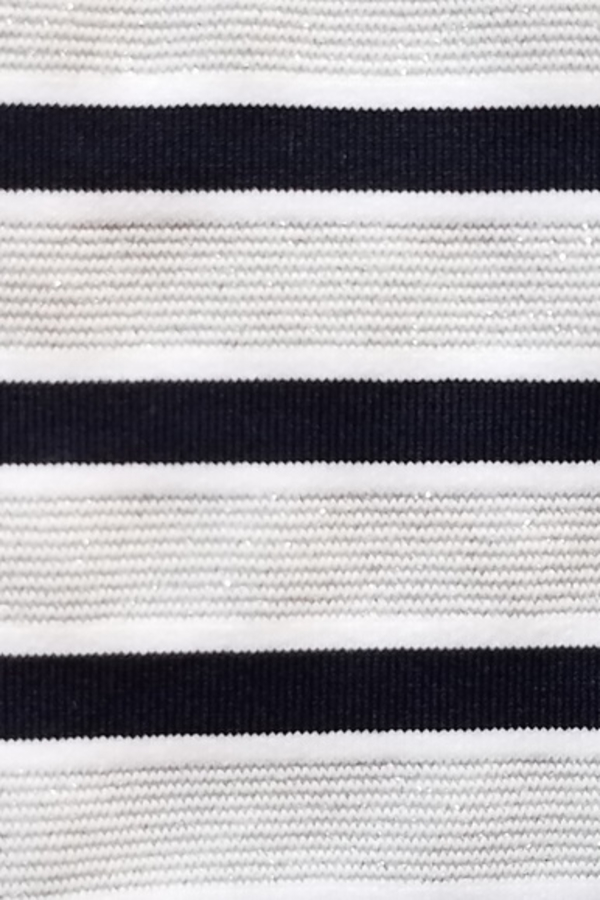 Melissa Odabash Black Jamie Striped Stretch-Jersey Mini Dress 4