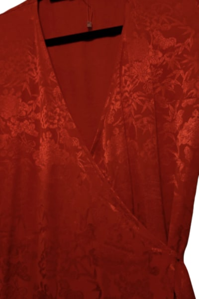 Kitri Odile Red Wrap Dress 3