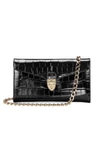Aspinal of London Black Clutch Bag Preview Images