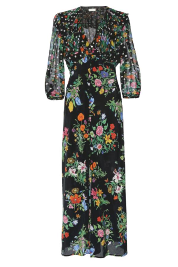 RIXO London Bonnie – English Floral Black