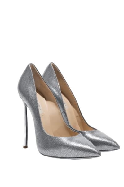 Casedei Silver pumps