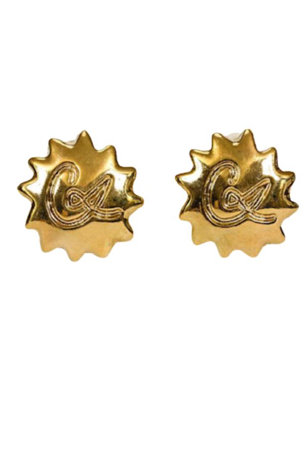 Christian Lacroix LACROIX GOLD LOGO CLIP EARRING 0 Preview Images