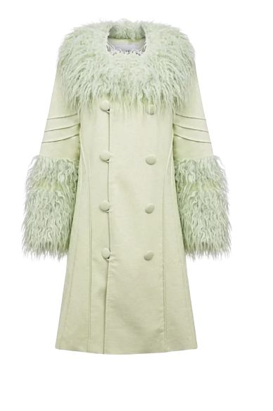 House of Sunny Pistachio Penny Coat Preview Images