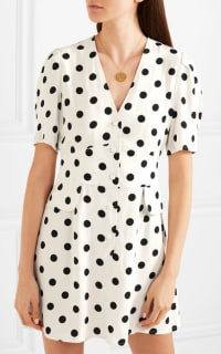 RIXO London Laura polka-dot dress 2 Preview Images
