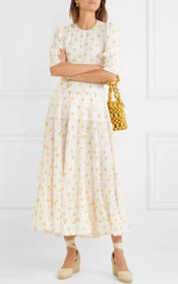 RIXO London Agyness tiered floral dress 5 Preview Images