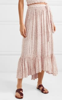 Faithfull The Brand Sabila Belted Floral-Print Skirt & Top 3 Preview Images