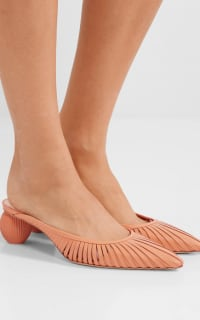 Cult Gaia Alia leather mules 3 Preview Images