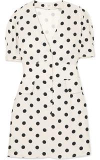 RIXO London Laura polka-dot dress Preview Images