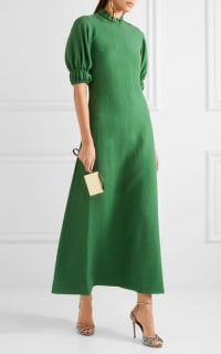 Emilia Wickstead Mimi cloqué maxi dress 2 Preview Images