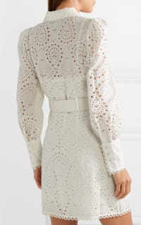 Zimmermann Belted broderie anglaise mini 3 Preview Images