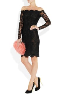 Emilio Pucci Off-the-shoulder Guipure lace dress 3 Preview Images