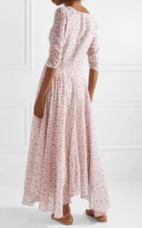 LoveShackFancy Floral Larissa Dress 4 Preview Images