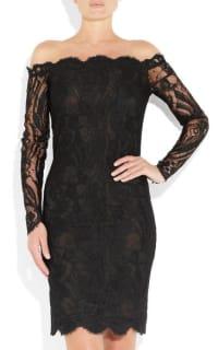 Emilio Pucci Off-the-shoulder Guipure lace dress 2 Preview Images
