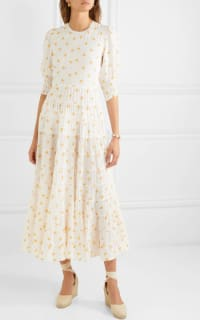 RIXO London Agyness tiered floral dress 3 Preview Images
