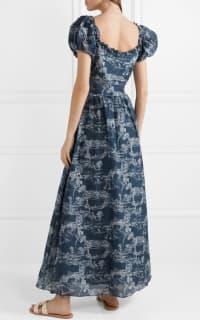 LoveShackFancy Bridget printed maxi dress 2 Preview Images