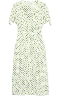 Faithfull The Brand Billie polka-dot crepe midi dress 3 Preview Images