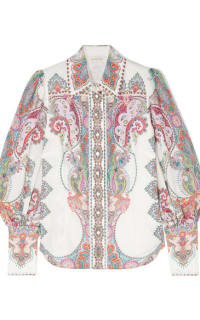 Zimmermann Paisley shirt  Preview Images