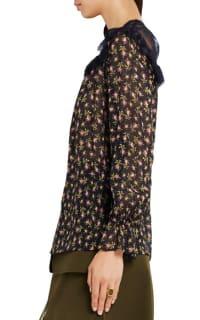 Philosophy di Lorenzo Serafini Ruffled silk-chiffon blouse 3 Preview Images