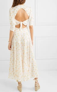 RIXO London Agyness tiered floral dress 2 Preview Images