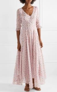 LoveShackFancy Floral Larissa Dress 3 Preview Images