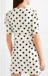 RIXO London Laura polka-dot dress 3 Preview Images