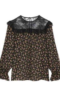 Philosophy di Lorenzo Serafini Ruffled silk-chiffon blouse 4 Preview Images