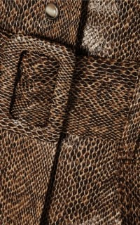 Nanushka Aarohi snake-effect skirt 5 Preview Images