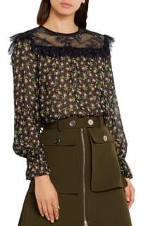 Philosophy di Lorenzo Serafini Ruffled silk-chiffon blouse 2 Preview Images