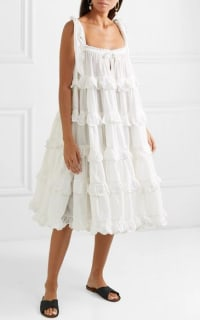 Innika Choo Iva tiered dress 4 Preview Images