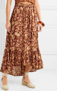 Faithfull The Brand Sabila Maxi skirt 3 Preview Images