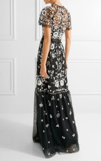 Needle & Thread PPETAL EMBELLISHED TULLE GOWN 3 Preview Images